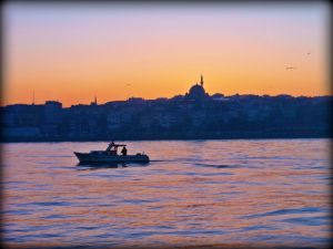 Sunrise on the Bosphorus