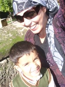 Osman and me in Urfa