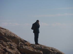 Hasan Amca at Mt Nemrut